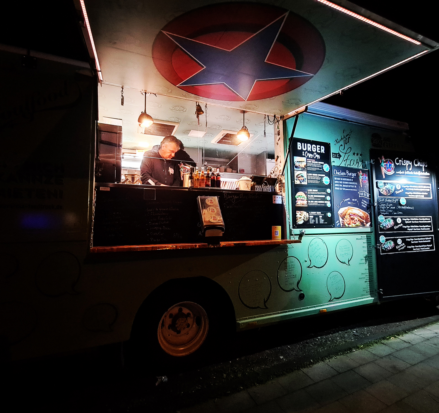CIA Foodtruck Night 1